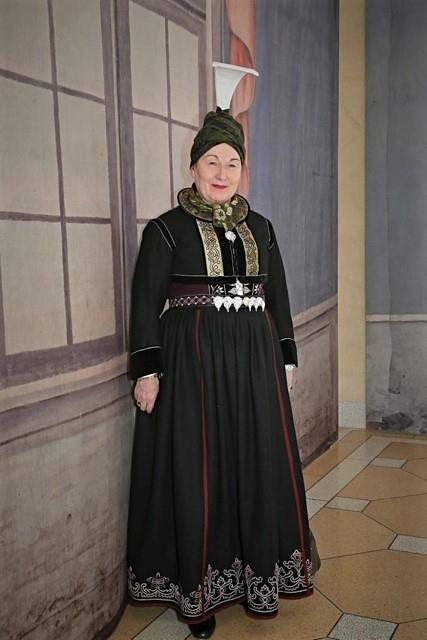 Annríki - Þjóðbúningar og skart. Faldbúningur Rannveigar Filipusdóttur Sívertsen