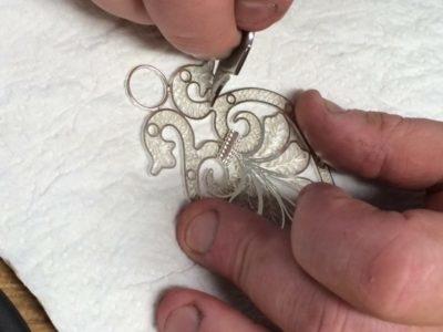 Víravirkissprotabeltisendi póleraður með pólístáli til að fá glans fram.