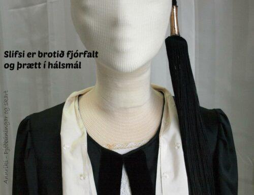"""Að hnýta slifsi – How to tie """"slifsi"""""""